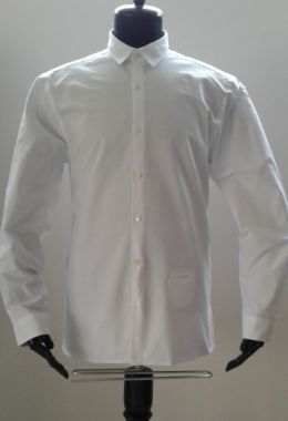Wıllıam Shirt- White Oxford